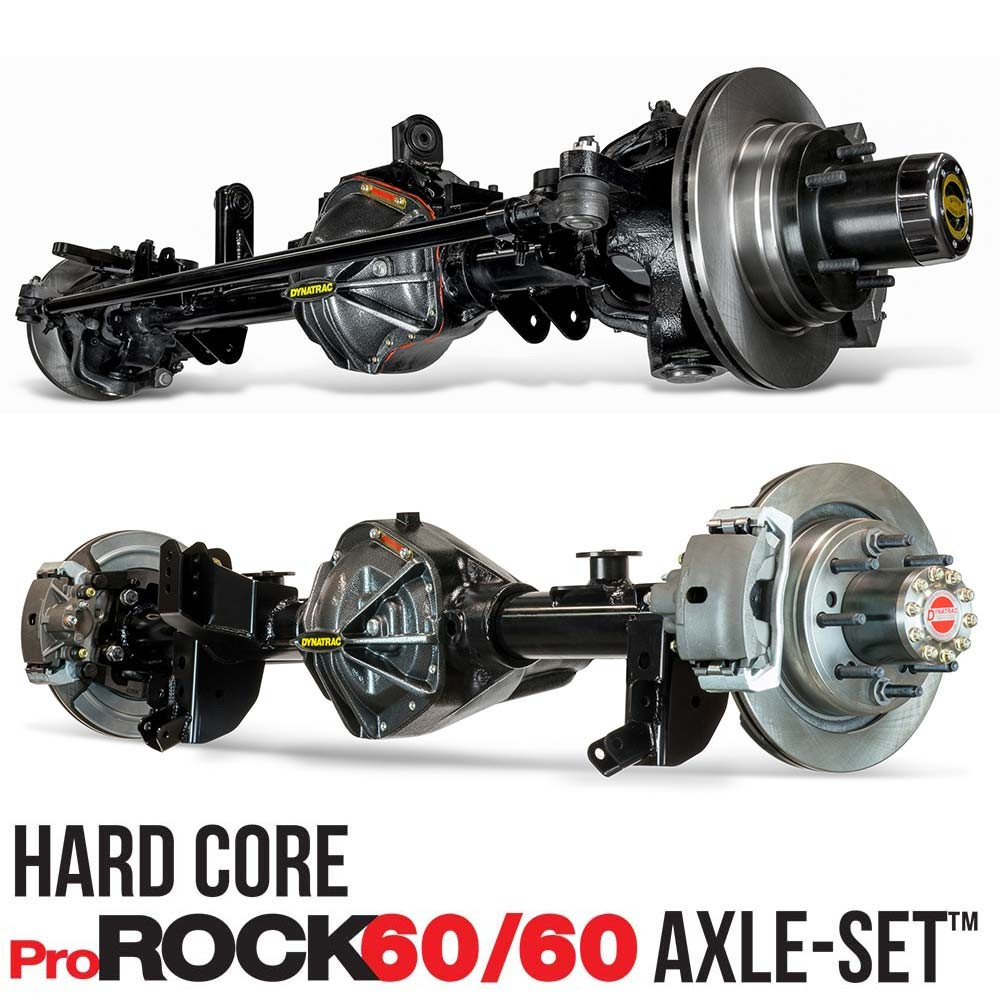 Upgrade to 1 tons - Front & Rear Bolt In Axles