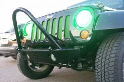 CRAWLER CONCEPTZ - Skinny Series Front Bumper With Fogs, Tabs And Stinger