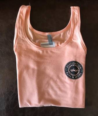 Destination 4x4s and More - Womens Peach Tank