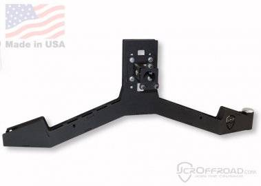 JCR OFFROAD - XJ Tire Carrier Adventure Bumper Mount Jeep Cherokee (84-01)