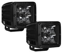 Rigid Industries - D-Series Midnight Edition Single 2x2 Spot Light