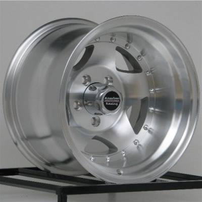 American Racing Wheels - American Racing Wheel 15x10 AR23 Machined w Clear Coat