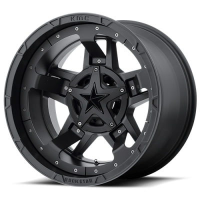 Rockstar Wheels - XD827 RS3 MATTE BLACK