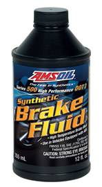 Amsoil - Amsoil Series 500 High-Performance DOT 3 Brake Fluid