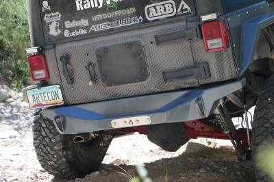 Artec Industries - Nighthawk JKU Rear Bumper
