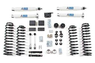 "BDS - FOX 3"" Suspension System - Jeep Wrangler JK  W/ Alum Shocks & Hi-Mount Fox 2.0 Stab"