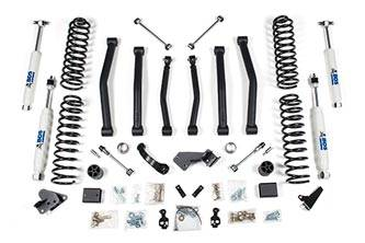 "BDS - 4-1/2"" Suspension System - Jeep Wrangler JK NX2 Shocks & Stab"