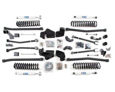 "BDS - 4"" to 6-1/2"" Long Arm Lift Kit - Jeep Wrangler JK W NX2 Shocks & Stabilizer"