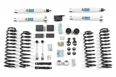 "BDS - 3"" Suspension Lift Kit - Jeep Wrangler JK w NX2 Shocks & Stabilizer"