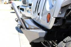 CRAWLER CONCEPTZ - Skinny Series Front Bumper With Fogs, Bar And Tabs