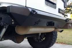 CRAWLER CONCEPTZ - Skinny Series Rear Bumper With Hitch and Tabs