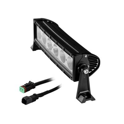 Heise - 14 INCH SINGLE ROW LED LIGHT BAR:  Fits All Jeeps