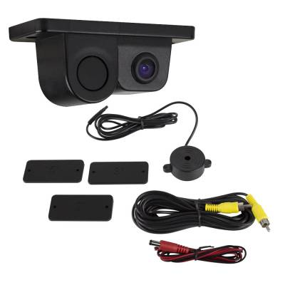 iBeam - ALL-IN-ONE BACK-UP CAMERA AND PARKING SENSOR