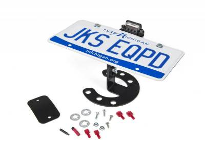 JKS MFG. - Spare Tire License Plate Mount
