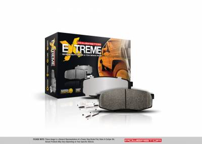 Power Stop - Power Stop Z36 Carbon Fiber Infused Ceramic Rear Brake Pads JK 07+ Z361274