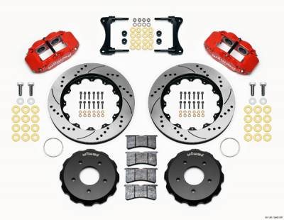 Wilwood - WilWood Forged Narrow Superlite 4R Complete Brake Kit  07+ JEEP JK - FRONT Replacement