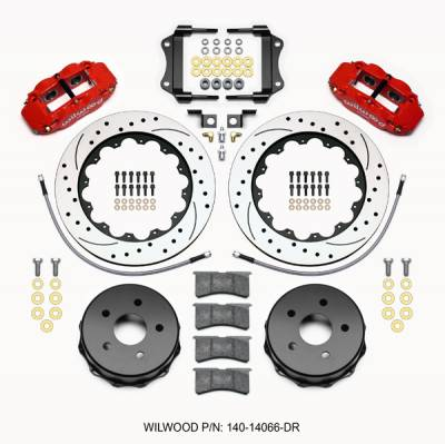 Wilwood - WilWood Forged Narrow Superlite 4R Complete Brake Kit  07+ JEEP JK - REAR Replacement