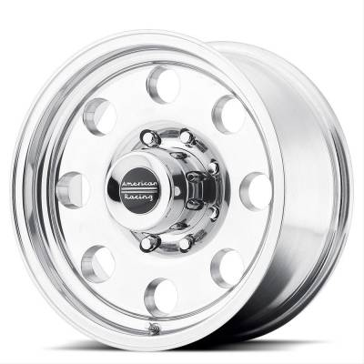 American Racing Wheels - American Racing Wheel 15x10 AR172 Polished
