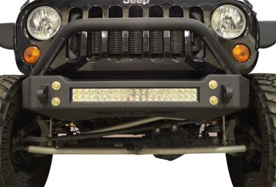 Ace Engineering - JK Bumper and LED Light Combo Bull Bar - Image 2