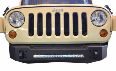 Bumper & Body - Ace Engineering - Ace Engineering - ACE JK Pro Series Aluminum Front Bumper