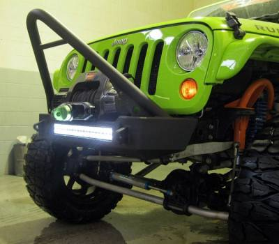 Bumper & Body - Ace Engineering - Ace Engineering - JK Bumper and LED Light Combo - Stinger