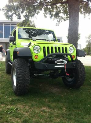 Bumper & Body - Ace Engineering - Ace Engineering - ACE JK Pro Series Front Bumper (Bull Bar)
