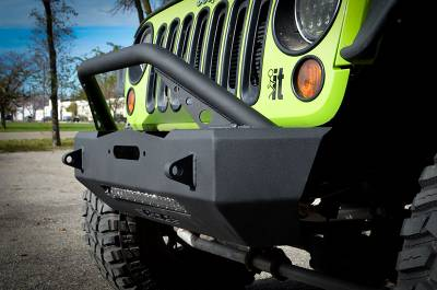 Bumper & Body - Ace Engineering - Ace Engineering - ACE JK Expedition Series Stubby Bumper Combo (Bull Bar)