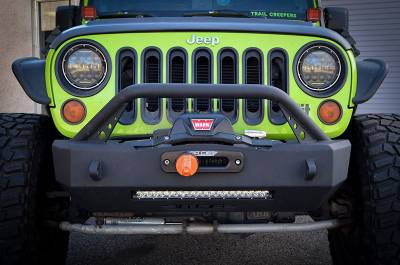 Bumper & Body - Ace Engineering - Ace Engineering - ACE JK Expedition Series Stubby Bumper (Bull Bar)