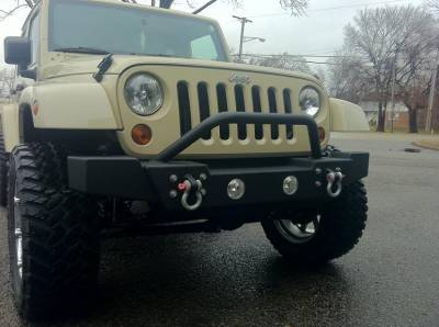 Ace Engineering - ACE JK Mid Width Bumper (Bull Bar) - Image 3