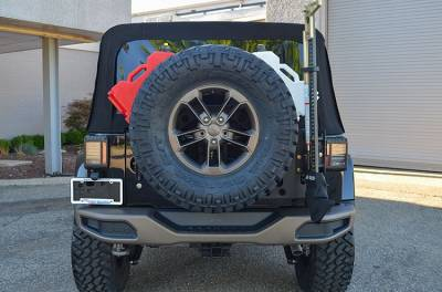 Ace Engineering - ACE JK Stand Alone Tire Carrier - Image 4