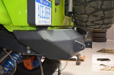 Ace Engineering - ACE JK Pro Series Rear Bumper with Tire Carrier - Image 3