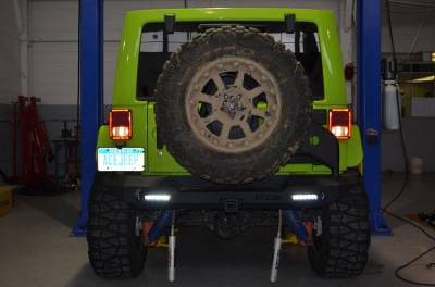 Ace Engineering - ACE JK Pro Series Rear Bumper with Tire Carrier - Image 4