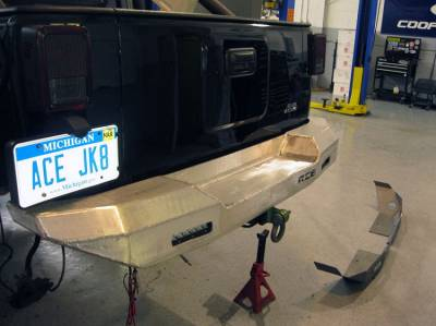 Bumper & Body - Ace Engineering - Ace Engineering - ACE JK Pro Series Aluminum Rear Bumper