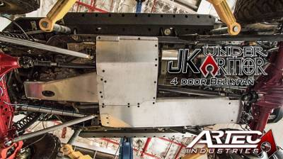 Artec Industries - JK UNDER ARMOR - Four door Bellypan Kit 07-11 - Image 2