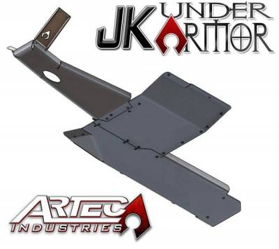 Artec Industries - JK UNDER ARMOR - Two Door Bellypan Kit - Image 1