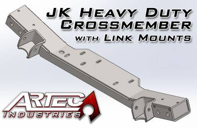 Artec Industries - JK HD Crossmember with Link Mounts - Image 1