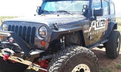 Bumper & Body - Artec Industries - Artec Industries - Nighthawk JK Front Fenders