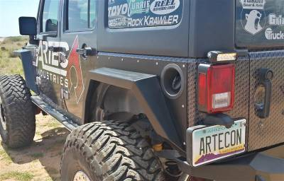 Bumper & Body - Artec Industries - Artec Industries - Nighthawk JKU Rear Fenders