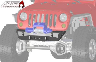 Bumper & Body - Artec Industries - Artec Industries - Nighthawk JK Front Bumper