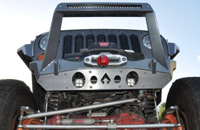 Bumper & Body - Artec Industries - Artec Industries - JK Front Bumper ROCK GUARD