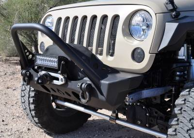 Artec Industries - Nighthawk JK Front Bumper with Mid Tube Stinger - Image 4