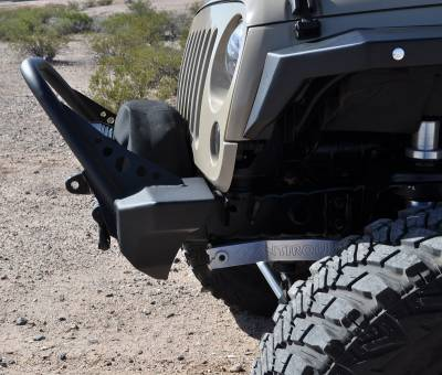 Artec Industries - Nighthawk JK Front Bumper with Mid Tube Stinger - Image 6