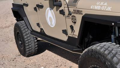 Artec Industries - Nighthawk JK Sliders (JKU - 4 Door) - Image 5