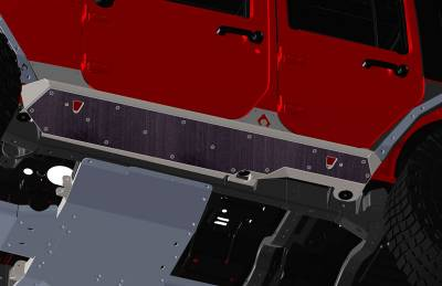 Artec Industries - JKU NightHawk Sliders Rock Guard Kit - Image 3