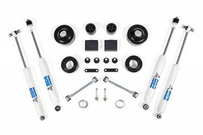 "Lift Kit Bundles - BDS - BDS - 2"" Coil Spacer Kit Jeep Wrangler JK 2/4DR FOX Adventure Shocks"
