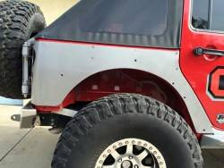 Bumper & Body - Crawler Conceptz - CRAWLER CONCEPTZ - Ultra Series JK 4 Door Full Rear Corner, No Flare