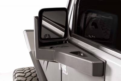 Extreme Duty - Accessories / Recovery - Fab Fours - Front Door Skin Mirror Gaurd