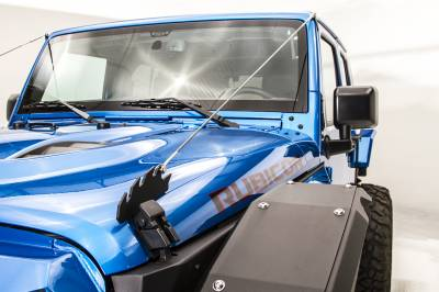 Fab Fours - JEEP JK Front Full Width Fender Flare - Image 2