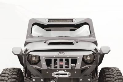 Bumper & Body - Fab Fours - Fab Fours - JEEP JK Vicowl 20-Inch Light Bar Insert