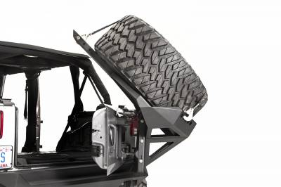 Fab Fours - JK SLANT BACK TIRE CARRIER - Image 3